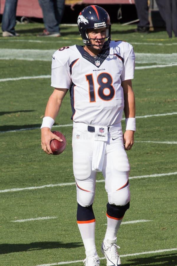 Peyton Manning obraz royalty free