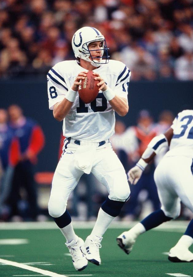 Peyton Manning Indianapolis Colts imagen de archivo libre de regalías