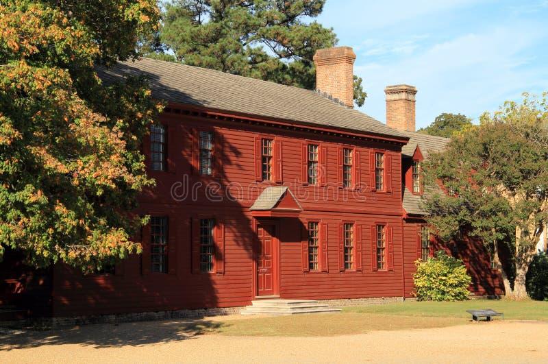 Peyton Randolph dom zdjęcie royalty free