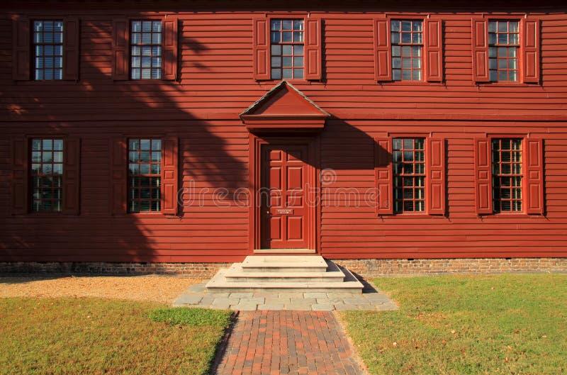 Peyton Randolph dom zdjęcia stock