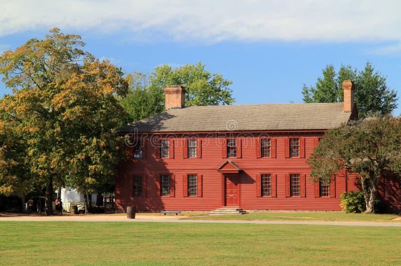 Peyton Randolph dom zdjęcie stock