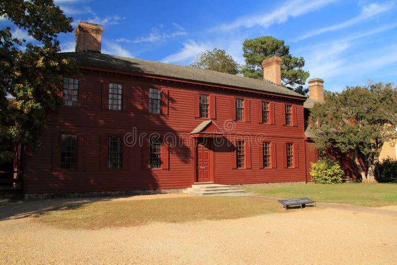 Peyton Randolph Home royalty-vrije stock foto's