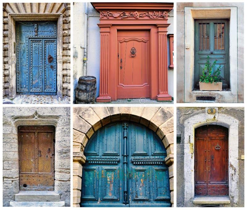 Pezenas, au sud de la France photographie stock libre de droits