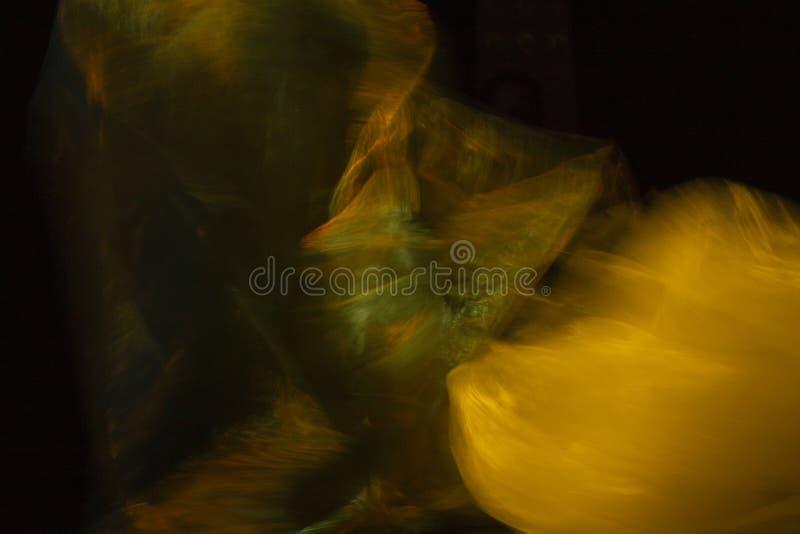 Pezzi astratti di volo del tessuto fotografia stock