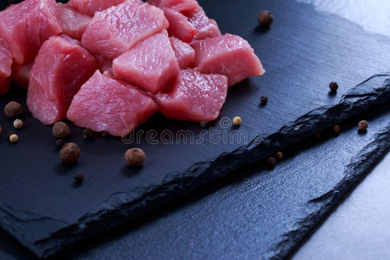 Pezzi di carne immagine stock libera da diritti