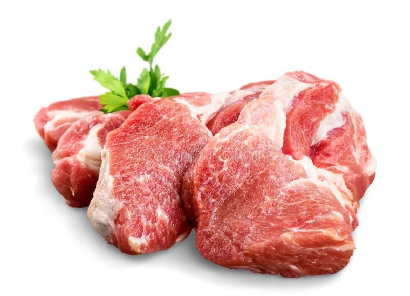 Download Pezzi Di Carne Grezza Con Prezzemolo Fotografia Stock - Immagine di rinforzi, bistecca: 117976258