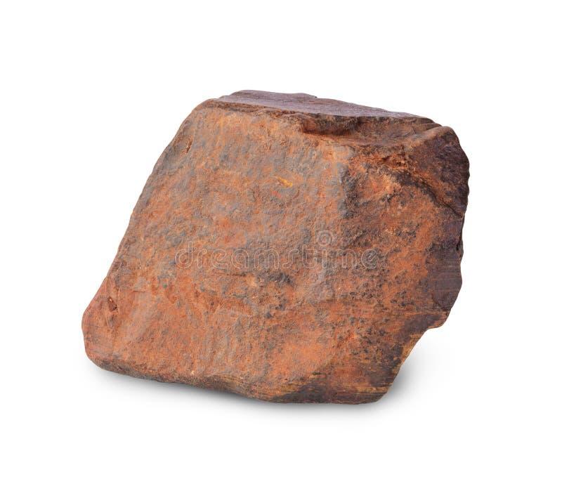 Pezzo di minerale di ferro fotografia stock