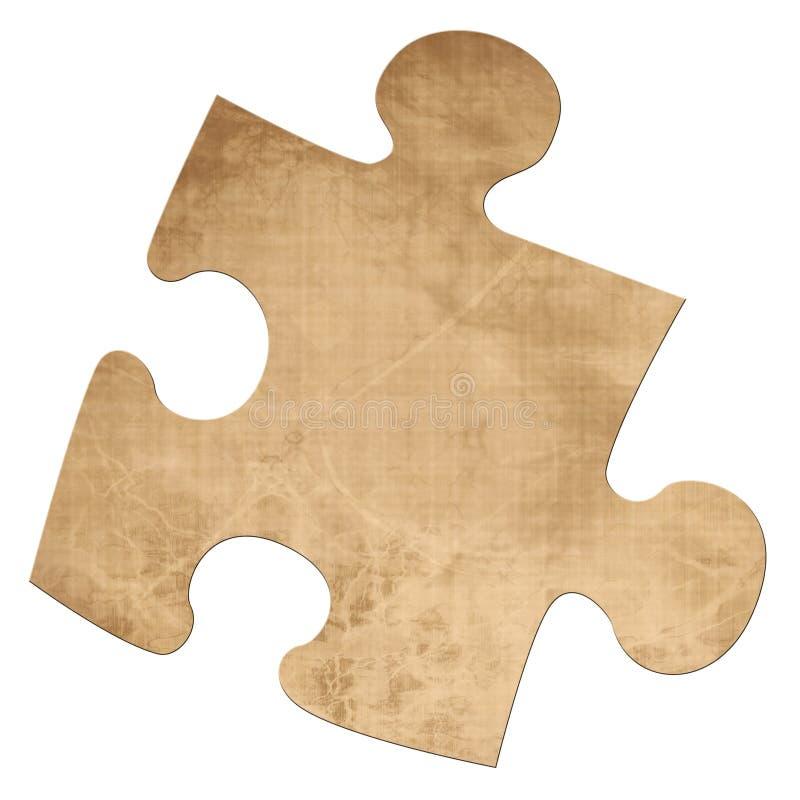 Pezzo di puzzle illustrazione vettoriale