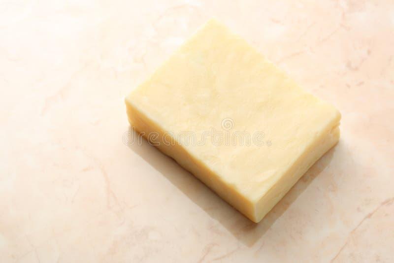 Pezzo di sapone fotografie stock