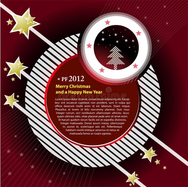 pf ανασκόπησης του 2012 διάνυσ& διανυσματική απεικόνιση