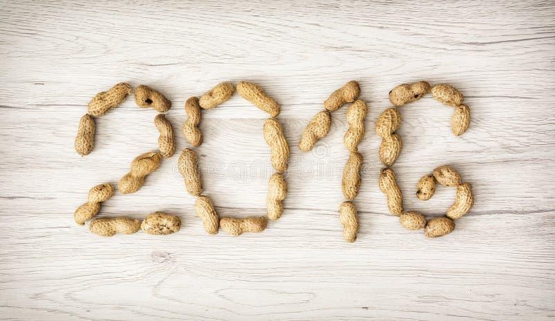 PF 2016 сделал от арахисов стоковые изображения