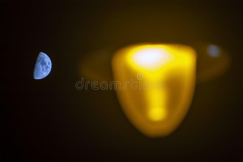 Pfad der Leuchte stockbild