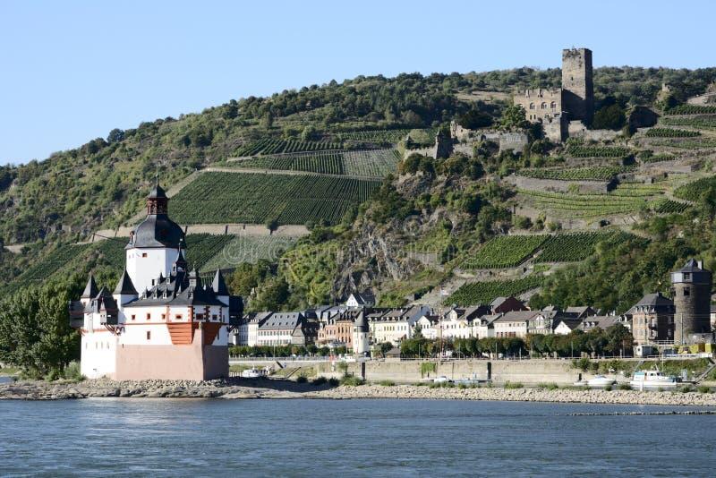 Pfalzgrafenstein城堡 免版税图库摄影