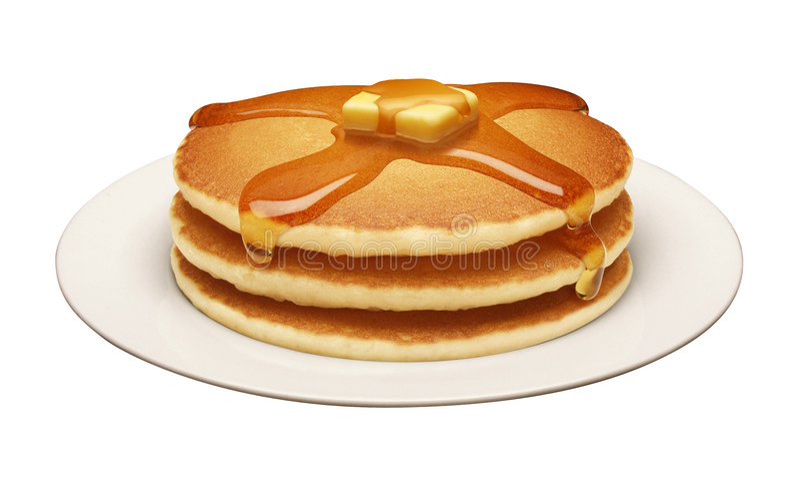 Pfannkuchen lizenzfreie stockbilder