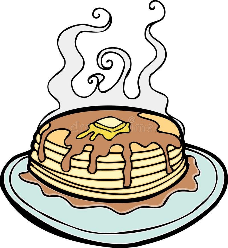 Pfannkuchen stock abbildung