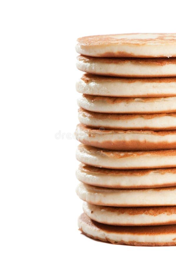Pfannkuchen-Stapel stockfotografie