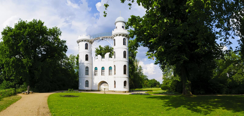Pfaueninsel berlin wannsee royalty free stock photo
