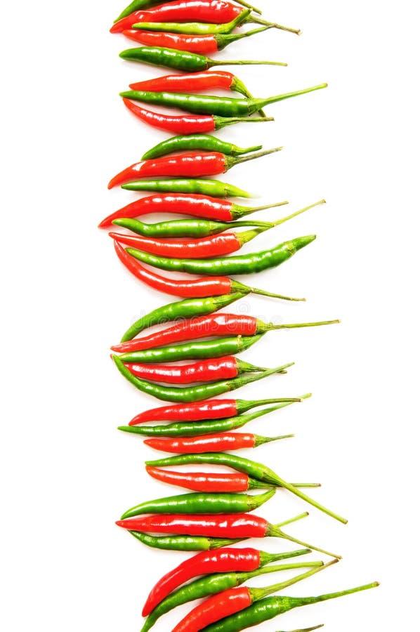 Pfeffer des roten Paprikas stockbilder