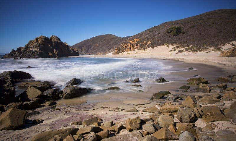 Pfeiffer Beach royalty free stock image
