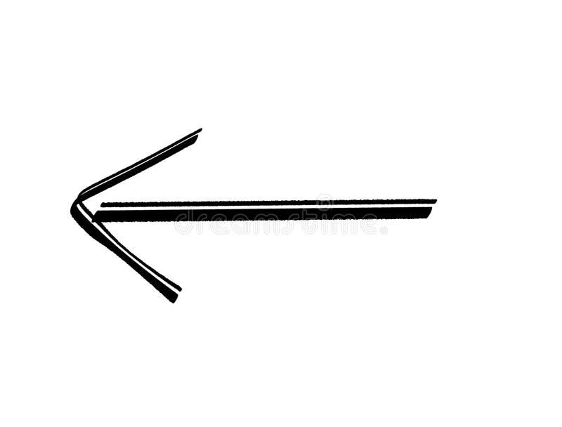 Pfeil für Richtung vektor abbildung