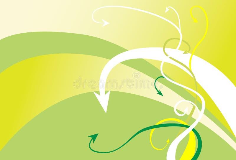 Pfeil-Hintergrund stock abbildung
