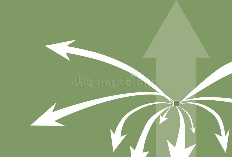 Pfeil-Hintergrund vektor abbildung