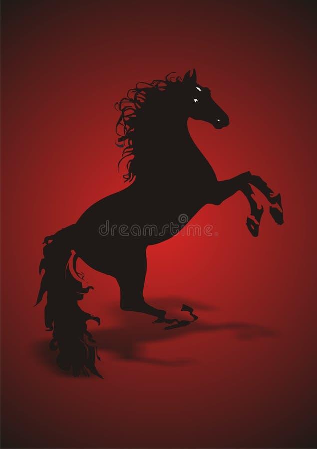 Pferd vektor abbildung