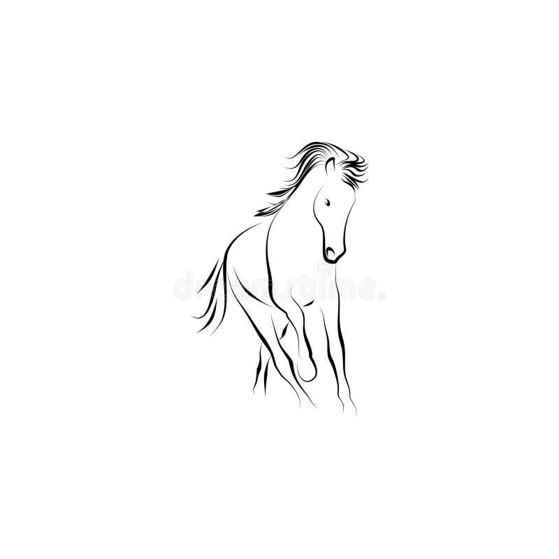 Pferd lizenzfreie abbildung