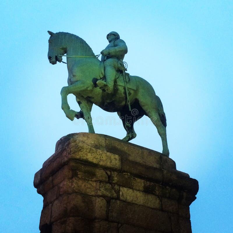 Pferd Soldair stockbilder