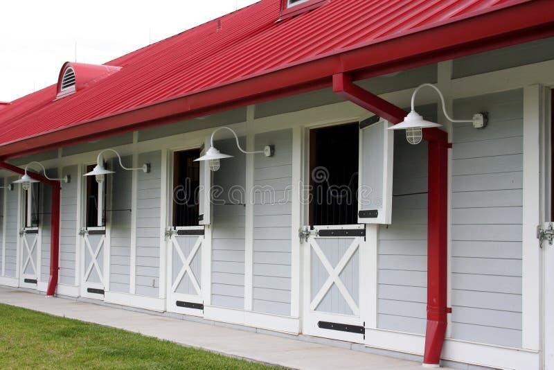 Pferden-Stall stockbilder