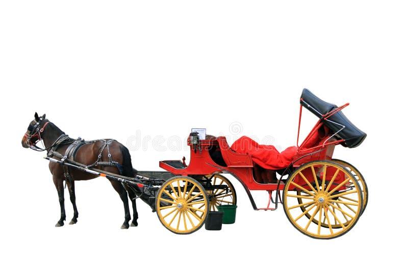 Pferdenwagen stockfotografie