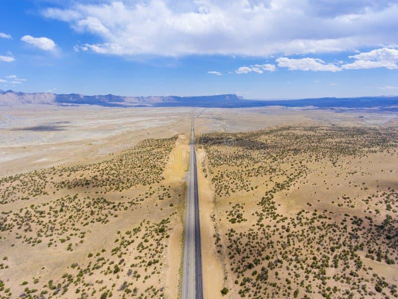 Pferdeschluchtvogelperspektive, Utah, USA lizenzfreie stockfotografie