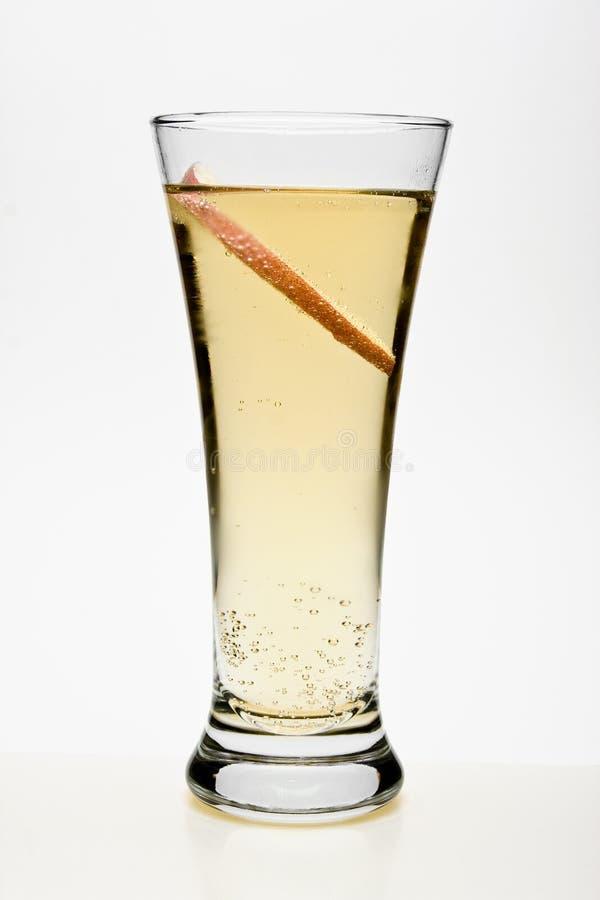 Pfirsich-Cocktail lizenzfreie stockbilder