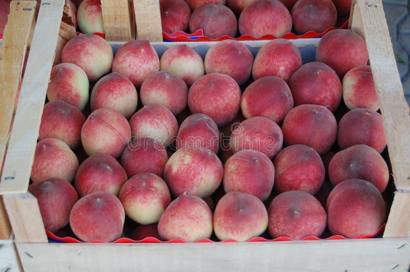 Pfirsichfrucht stockfoto