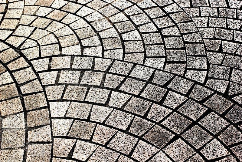 Pflastersteinziegelsteine, -beschaffenheit oder -hintergrund. lizenzfreies stockbild