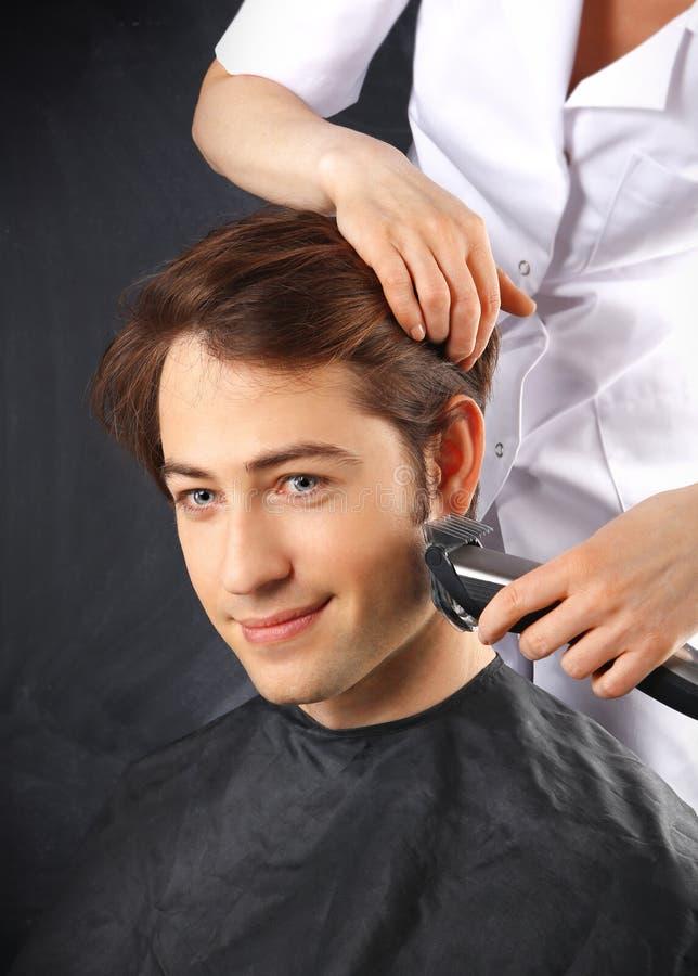 Pflegender Männer, Bartziele der Männer lizenzfreie stockfotos