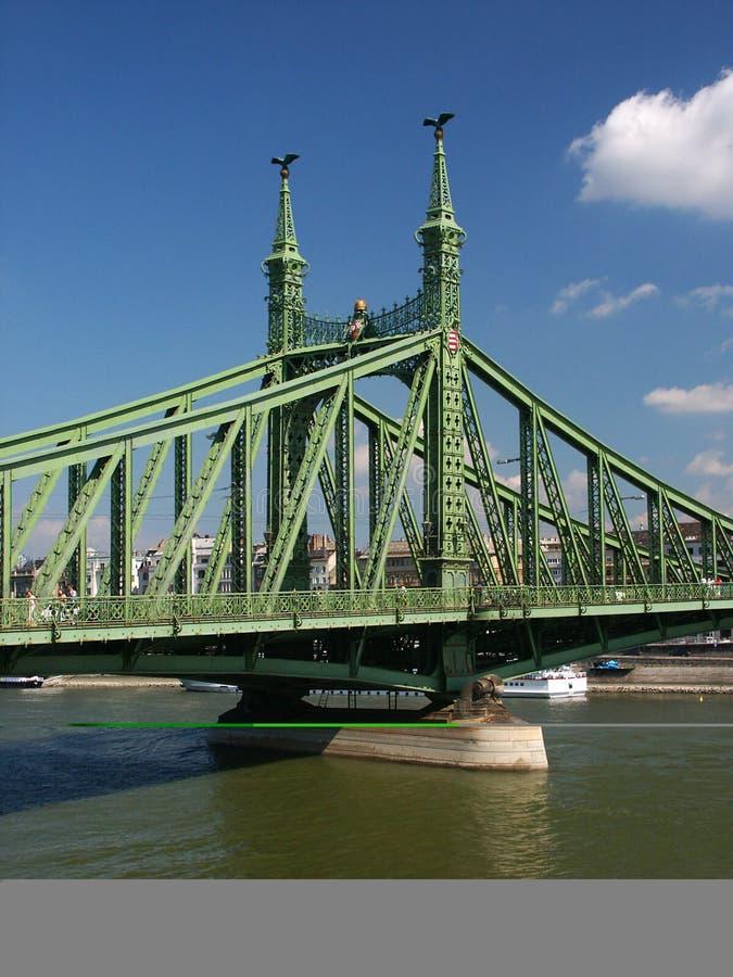 Pfosten der Freiheits-Brücke lizenzfreies stockfoto