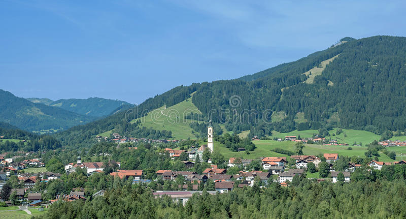 Pfronten, Allgaeu, Deutschland lizenzfreies stockbild