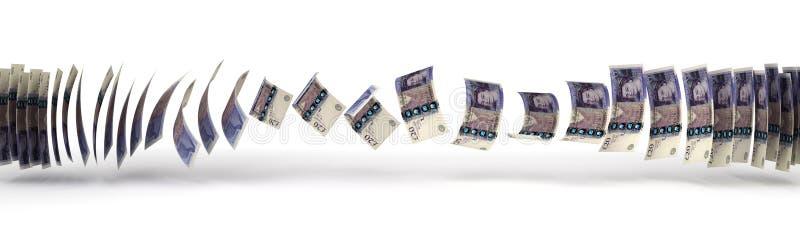 Pfund-Übertragung stock abbildung