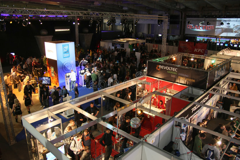 pga игры выставки арены стоковые изображения rf