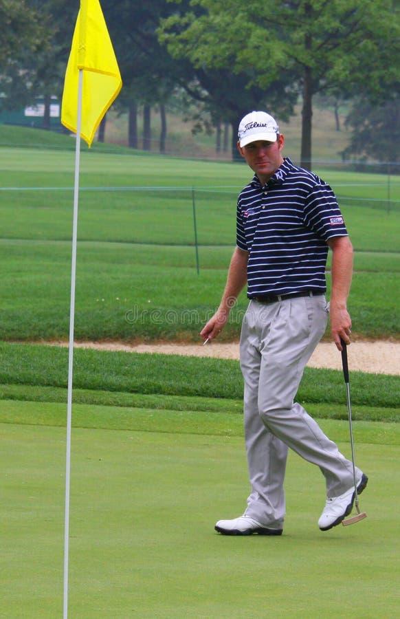 PGA américain pro Troy Matteson photographie stock libre de droits