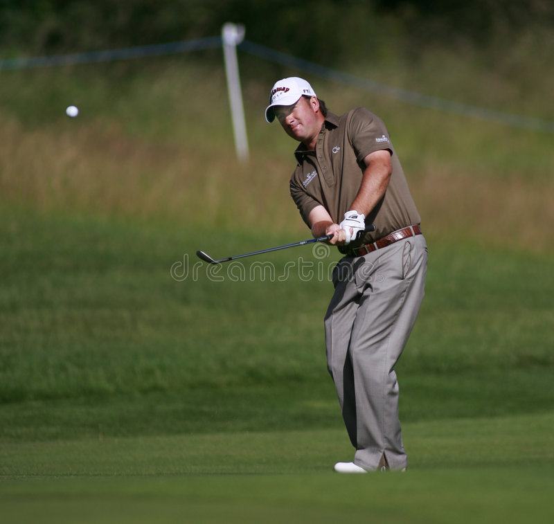 PGA Europäer geöffnet an der London-Golfclub-Asche Kent stockfoto