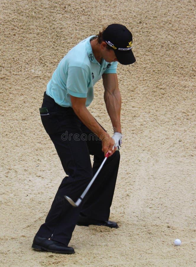PGA pro Camilo Villegas photographie stock libre de droits