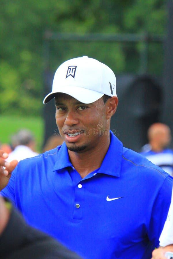 PGA Pro golfista Tiger Woods obrazy royalty free