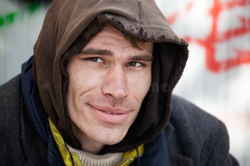 Phénomène des sans-abri photo libre de droits