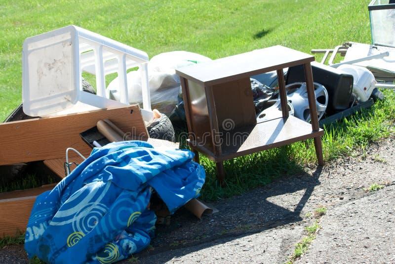 Phénomène des sans-abri et expulsion photo stock