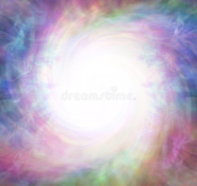 Phénomène spirituel de vortex de trou blanc - images stock
