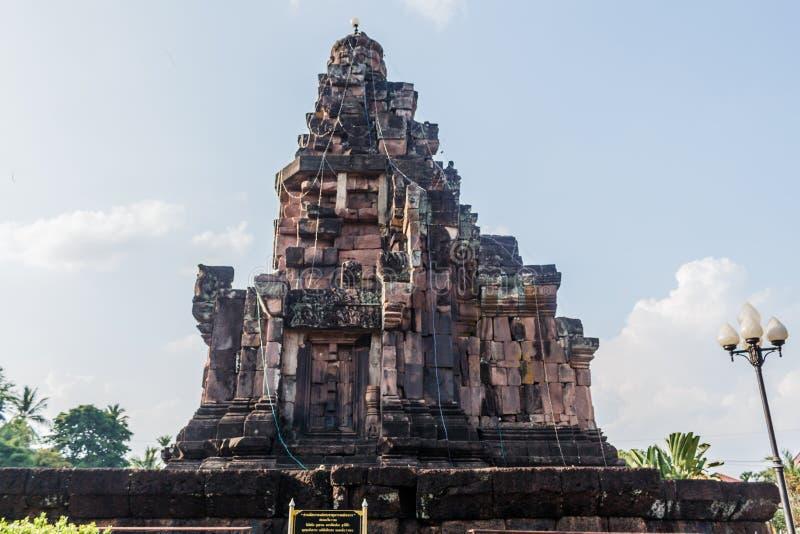 Pha den tempel för naraicheng weang i sakonnakhonlandskapthaila royaltyfri foto