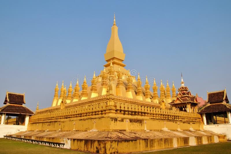 Pha That Luang royalty free stock image