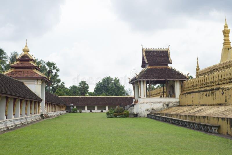 Pha qui Luang, Vientiane, Laos image libre de droits